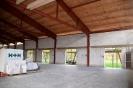 Dach und Saal